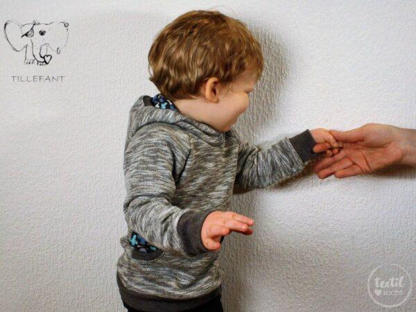 "Schnittmuster Raglansweater ""Max und Maxi"" - inkl. Nähanleitung - Bild 9"
