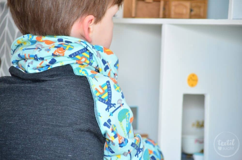 Kinderkleidung nähen: Pullover und Hose aus Wikinger Sweat von Swafing - Bild 3 | textilsucht.de