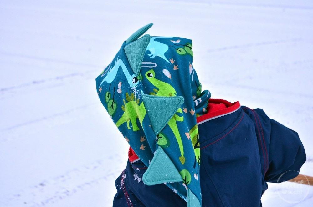 Eine Dinomütze aus coolem Dinostoff - Bild 2 | textilsucht.de