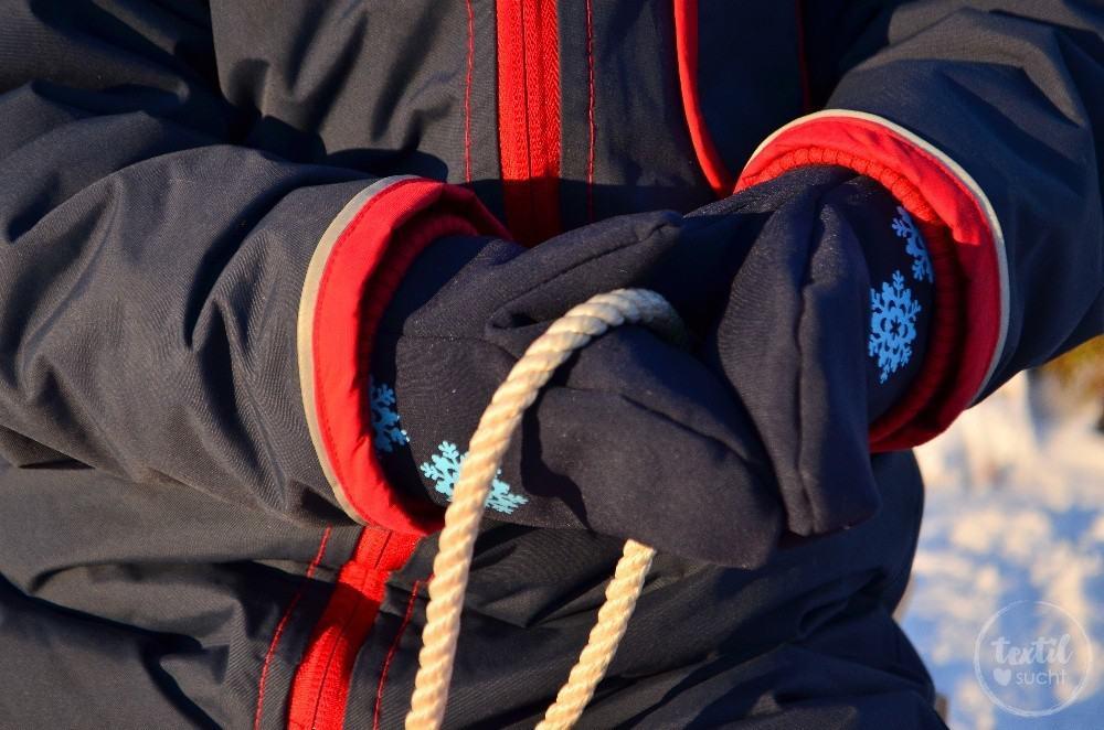 Nähanleitung: Fausthandschuhe nähen für Kinder und Erwachsene ...
