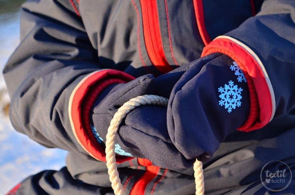 FREEBIE Fäustling Handschuh für Kinder und Erwachsene » Textilsucht®
