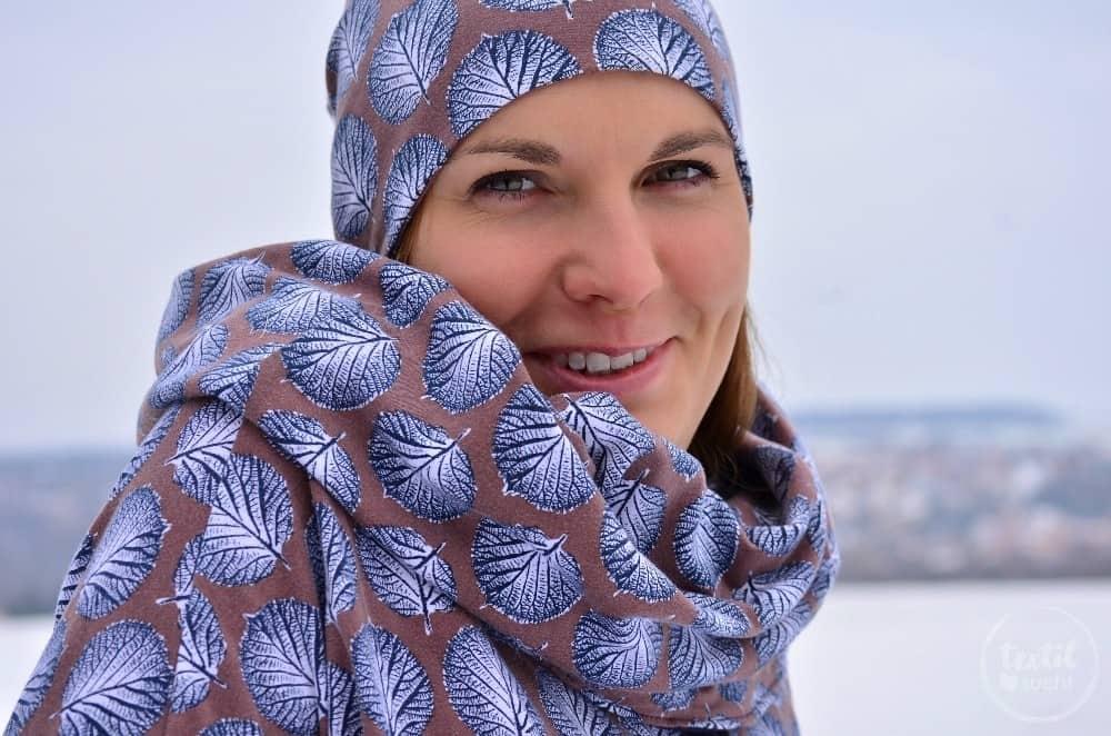 Mein neues selbstgenähtes Wintershirt: Lillestoff Winterblatt trifft auch Frau Madita - Bild 2 | textilsucht.de