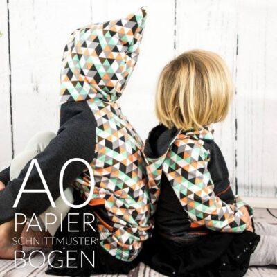 Papierschnittmuster Raglansweater Max&Maxi