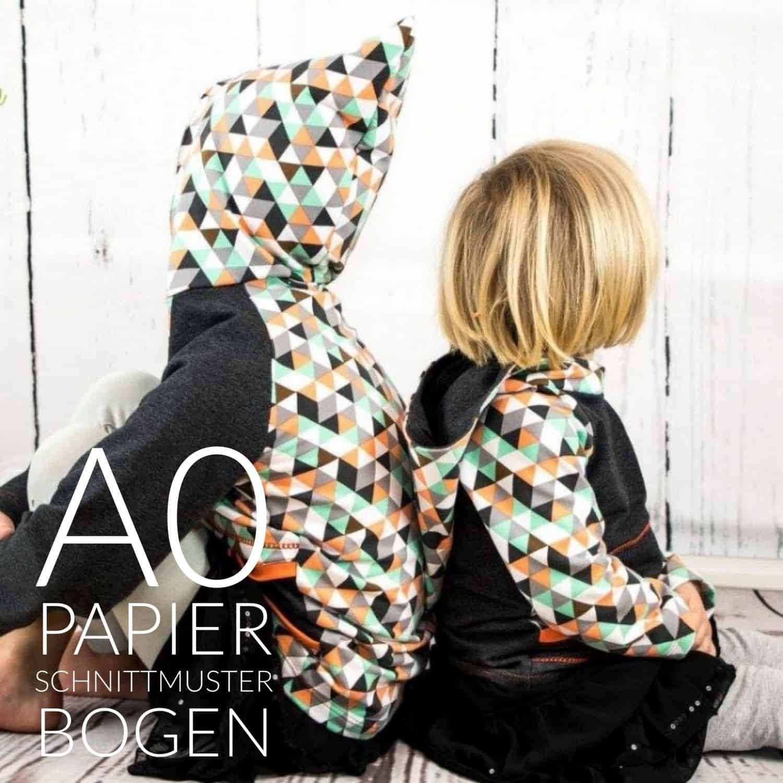 Papierschnittmuster Sweater Herren- inkl. Nähanleitung » Textilsucht®