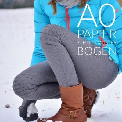 Papierschnittmuster Damenhose Steppo