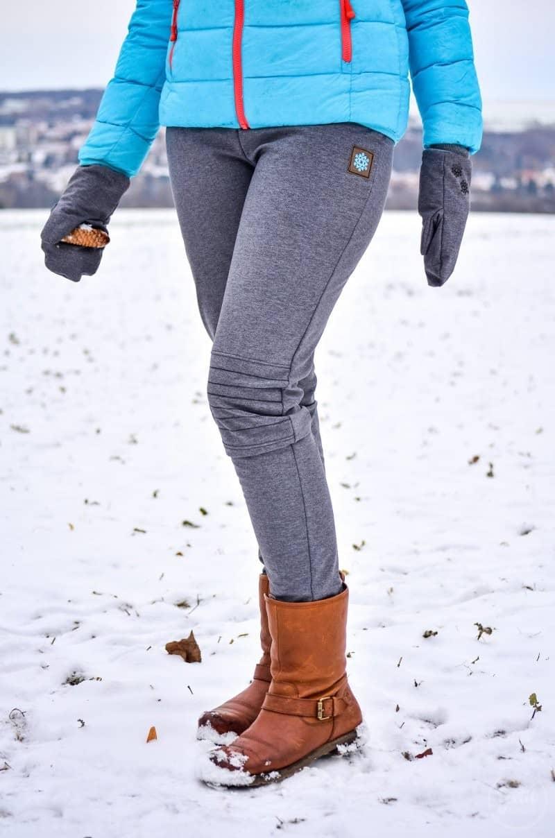 Hose nähen: Meine erste selbsgenähte Softshellhose - Bild 3   textilsucht.de