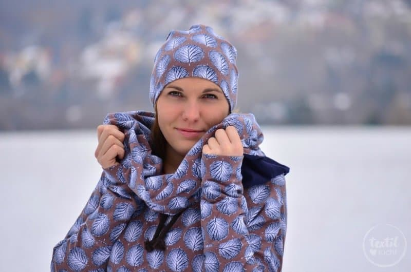 Mein neues selbstgenähtes Wintershirt: Lillestoff Winterblatt trifft auch Frau Madita - Titelbild   textilsucht.de