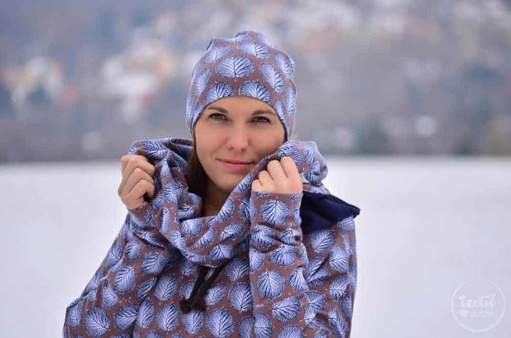 Mein neues selbstgenähtes Wintershirt: Lillestoff Winterblatt trifft auch Frau Madita - Titelbild | textilsucht.de