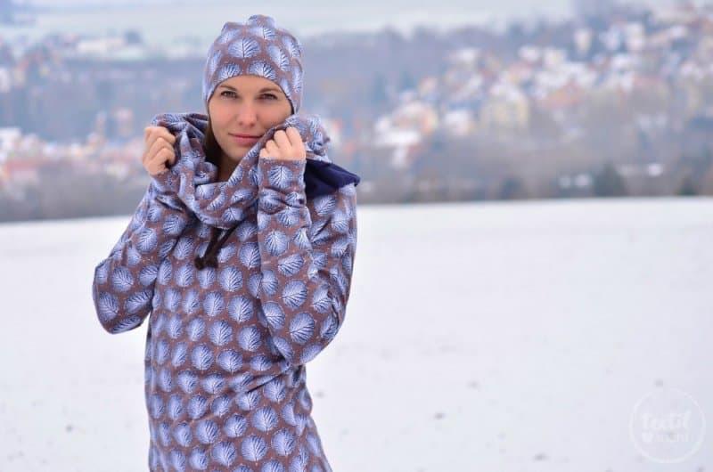 Mein neues selbstgenähtes Wintershirt: Lillestoff Winterblatt trifft auch Frau Madita - Bild 7 | textilsucht.de