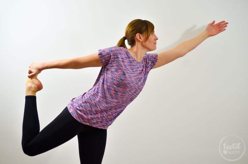 Sportshirt nähen: Amylee als Yogashirt - Bild 8 | textilsucht.de