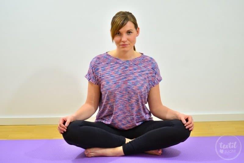 Sportshirt nähen: Amylee als Yogashirt - Titelbild | textilsucht.de