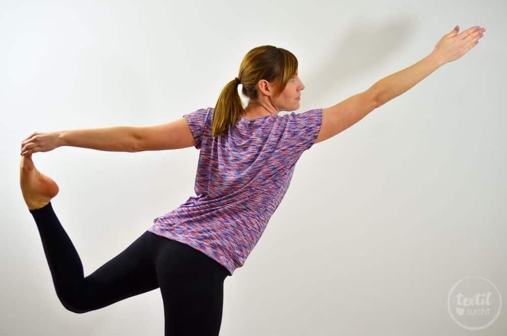 Sportshirt nähen: Amylee als Yogashirt - Bild 5 | textilsucht.de