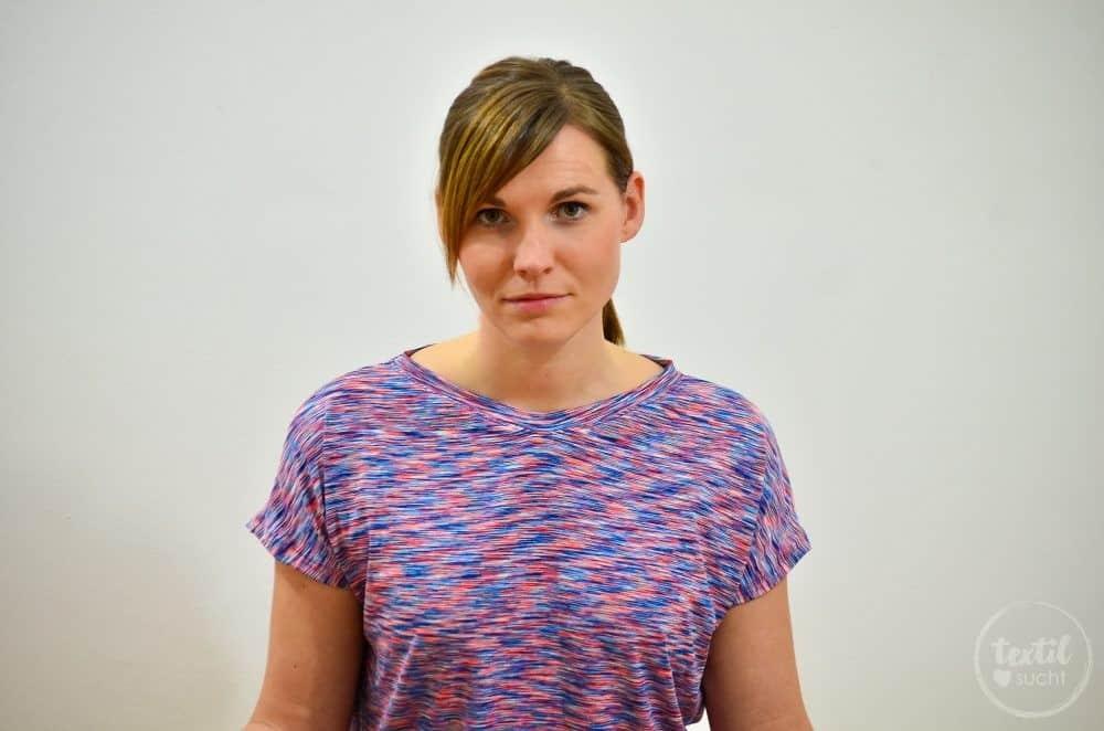 Sportshirt nähen: Amylee als Yogashirt - Bild 4 | textilsucht.de