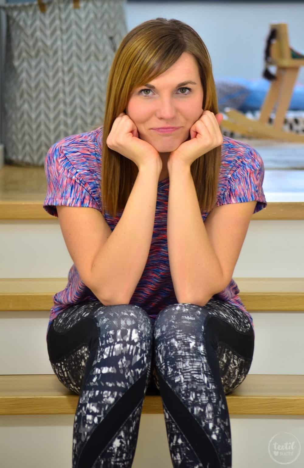 Sportshirt nähen: Amylee als Yogashirt - Bild 2 | textilsucht.de