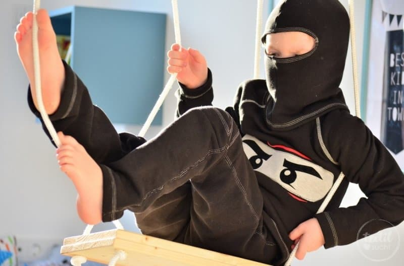 Faschingskostüm nähen: Ein selbstgenähtes Ninjakostüm - Bild 5 | textilsucht.de