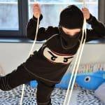 Faschingskostüm nähen: Ein selbstgenähtes Ninjakostüm