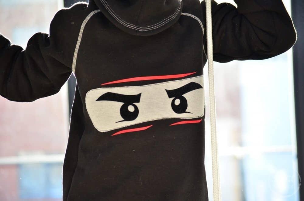Faschingskostüm nähen: Ein selbstgenähtes Ninjakostüm - Bild 4 | textilsucht.de