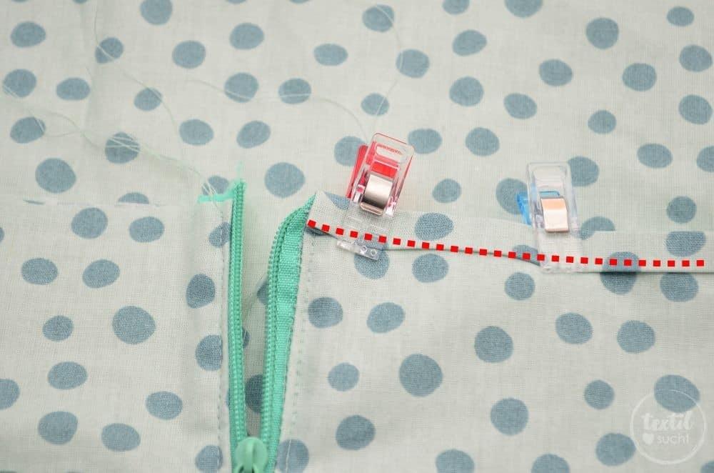 Kostenlose Nähanleitung: Fußsack für den Puppenwagen nähen - Bild 11 | textilsucht.de