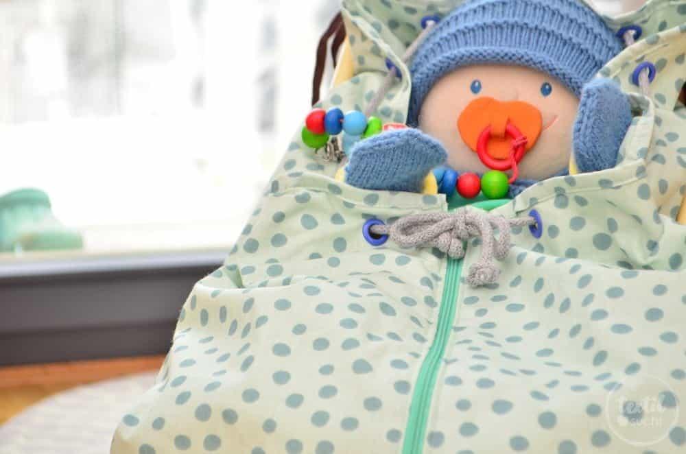 Kostenlose Nähanleitung: Fußsack für den Puppenwagen nähen - Bild 15 | textilsucht.de