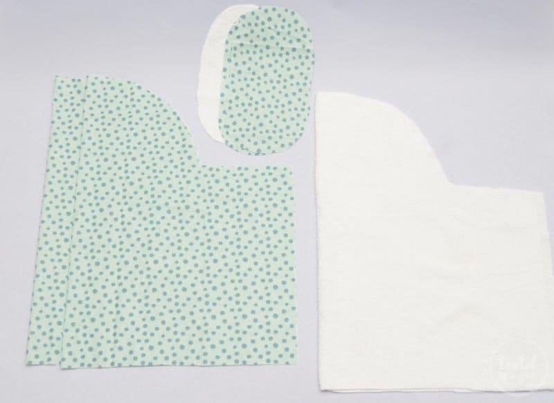 Kostenlose Nähanleitung: Fußsack für den Puppenwagen nähen - Bild 2 | textilsucht.de