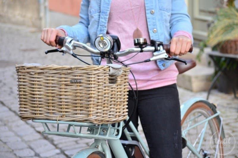 kosetnlose Nähanleitung: Tasche für den Fahrradkorb nähen - Bild 1 | textilsucht.de