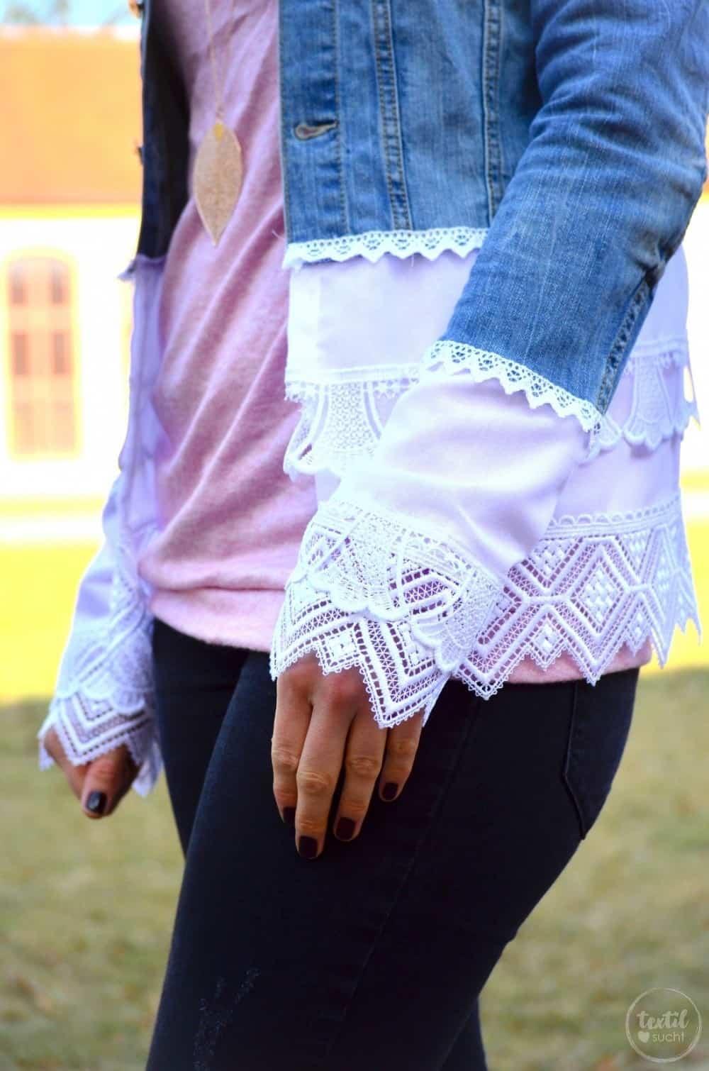 Tutorial: Jeansjacke Upcycling - Die fertige Jacke - Bild 3 | textilsucht.de