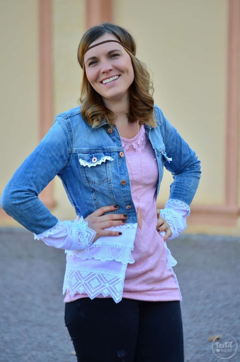 Tutorial: Jeansjacke Upcycling - Die fertige Jacke - Bild 1 | textilsucht.de