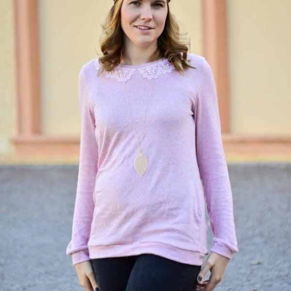 Pullover Leara mit Spitzenkragen (8)