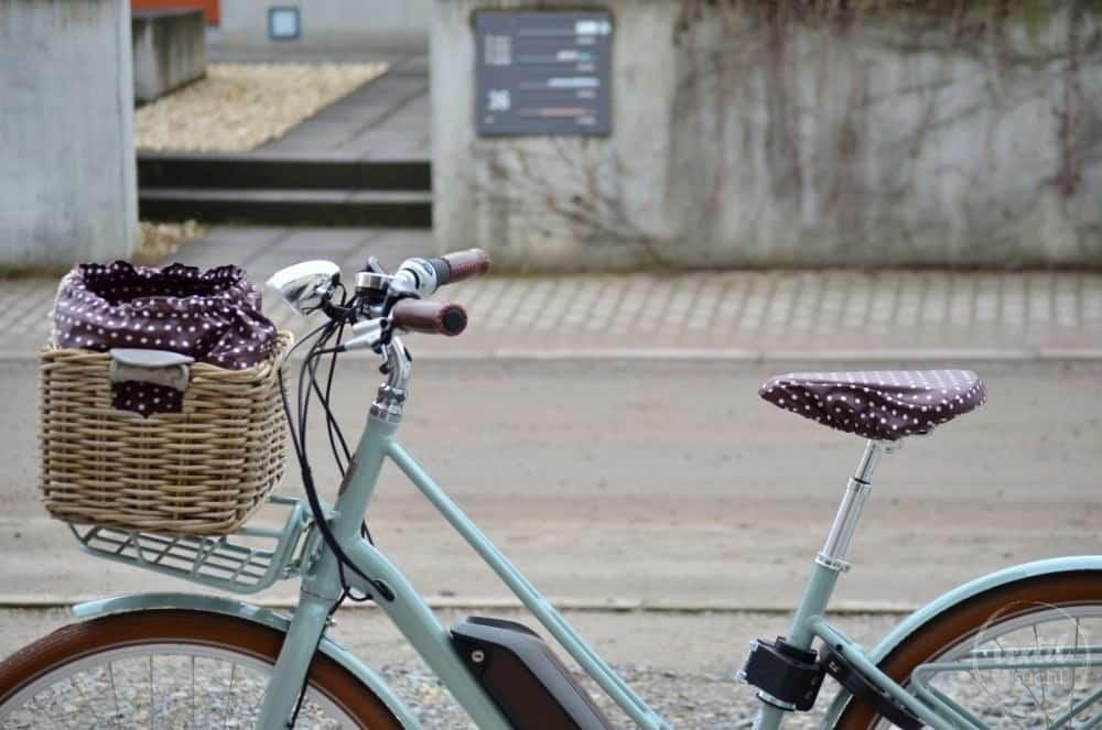 Sattelbezug und Tasche für den Fahrradkorb nähen - Bild 1 | textilsucht.de