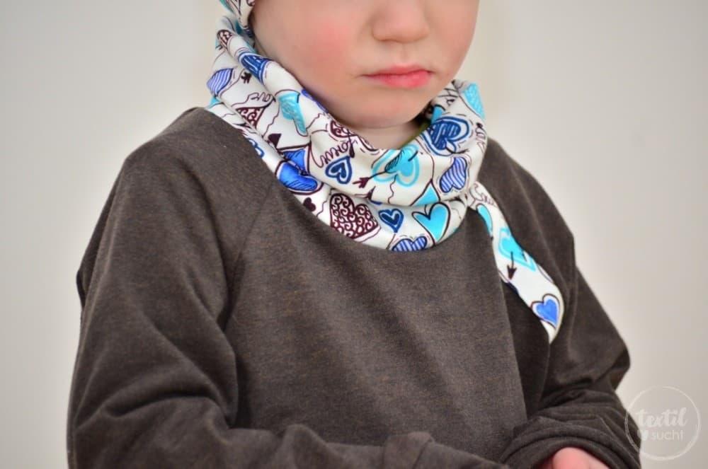 Ein etwas anderes Jungsoutfit aus Herzchenjersey - Bild 7 | textilsucht.de