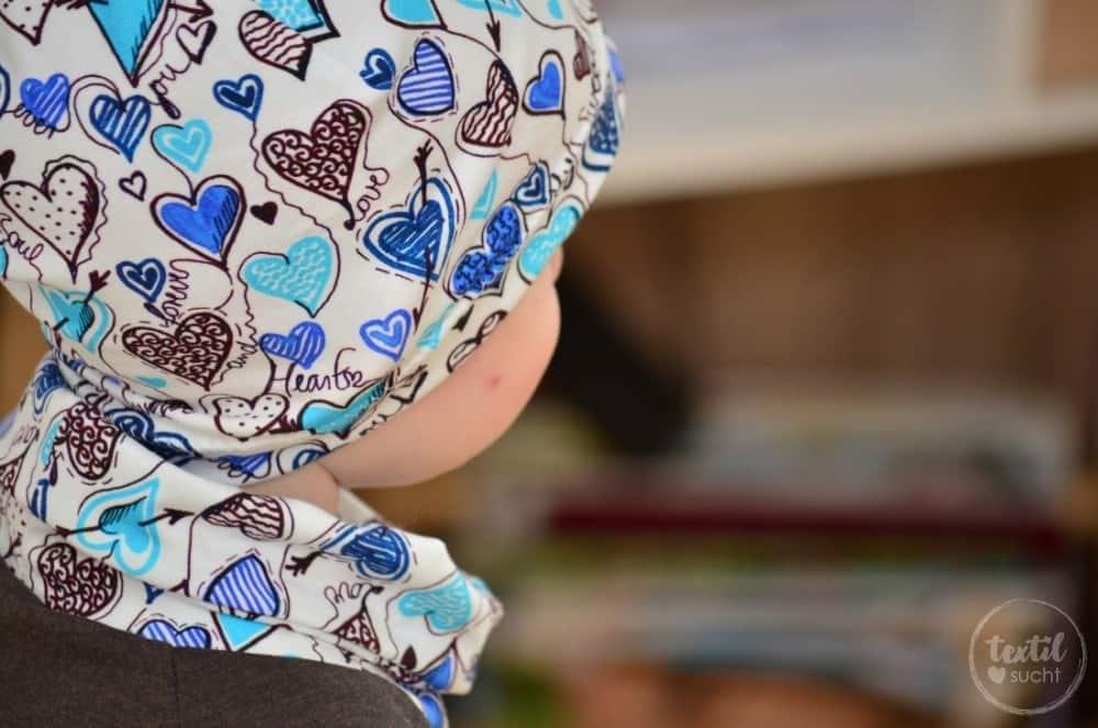 Ein etwas anderes Jungsoutfit aus Herzchenjersey - Bild 5 | textilsucht.de