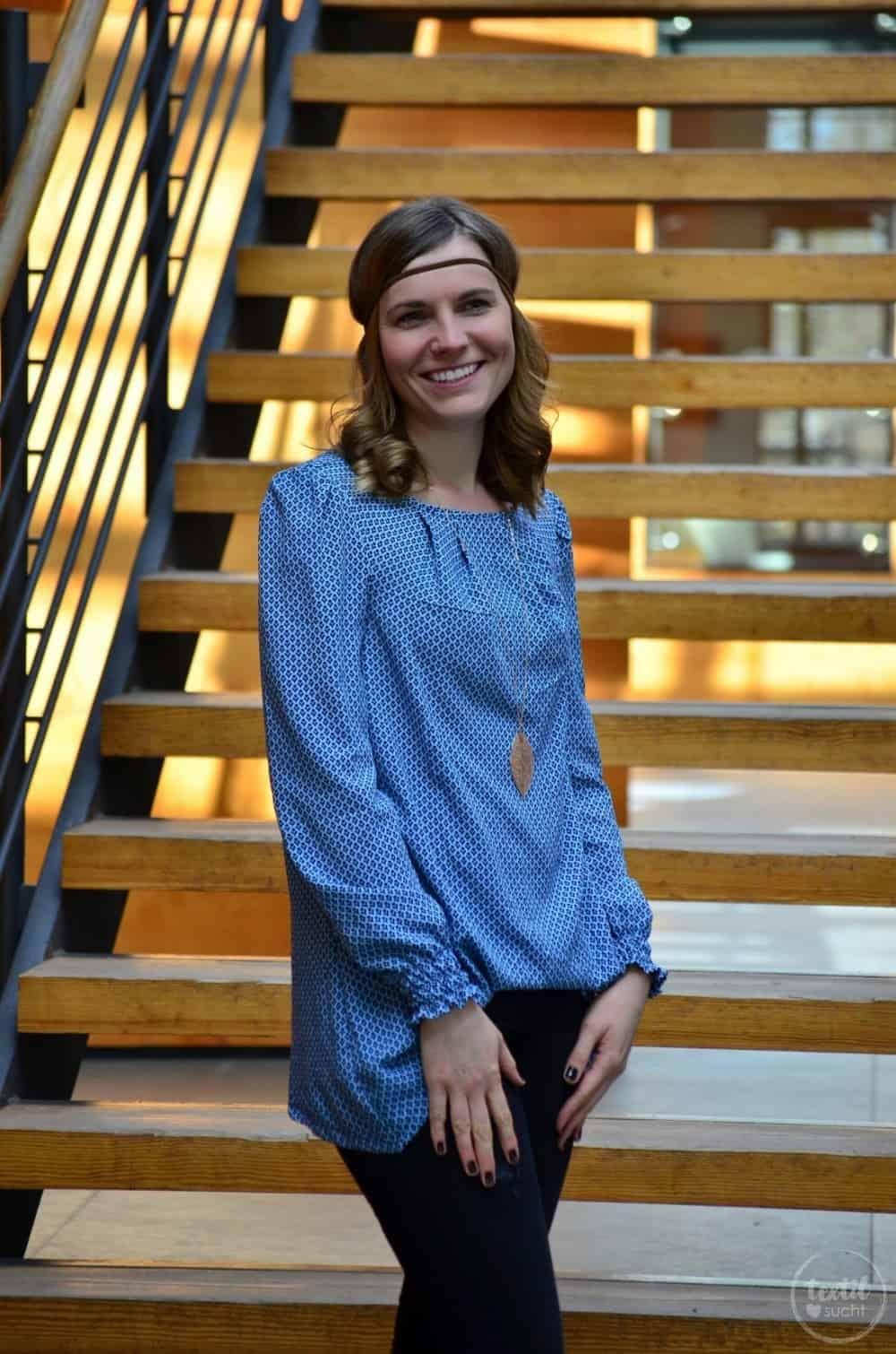 Mein nächster Schnitt ist online: Schnittmuster Bluse und Top Moana - Bild 5 | textilsucht.de