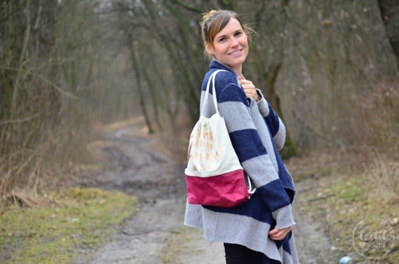 Turnbeutel Rucksack nähen mit colARTex® - Bild 5 | textilsucht.de