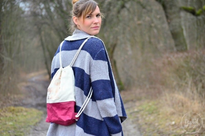 Turnbeutel Rucksack nähen mit colARTex® - Bild 4 | textilsucht.de