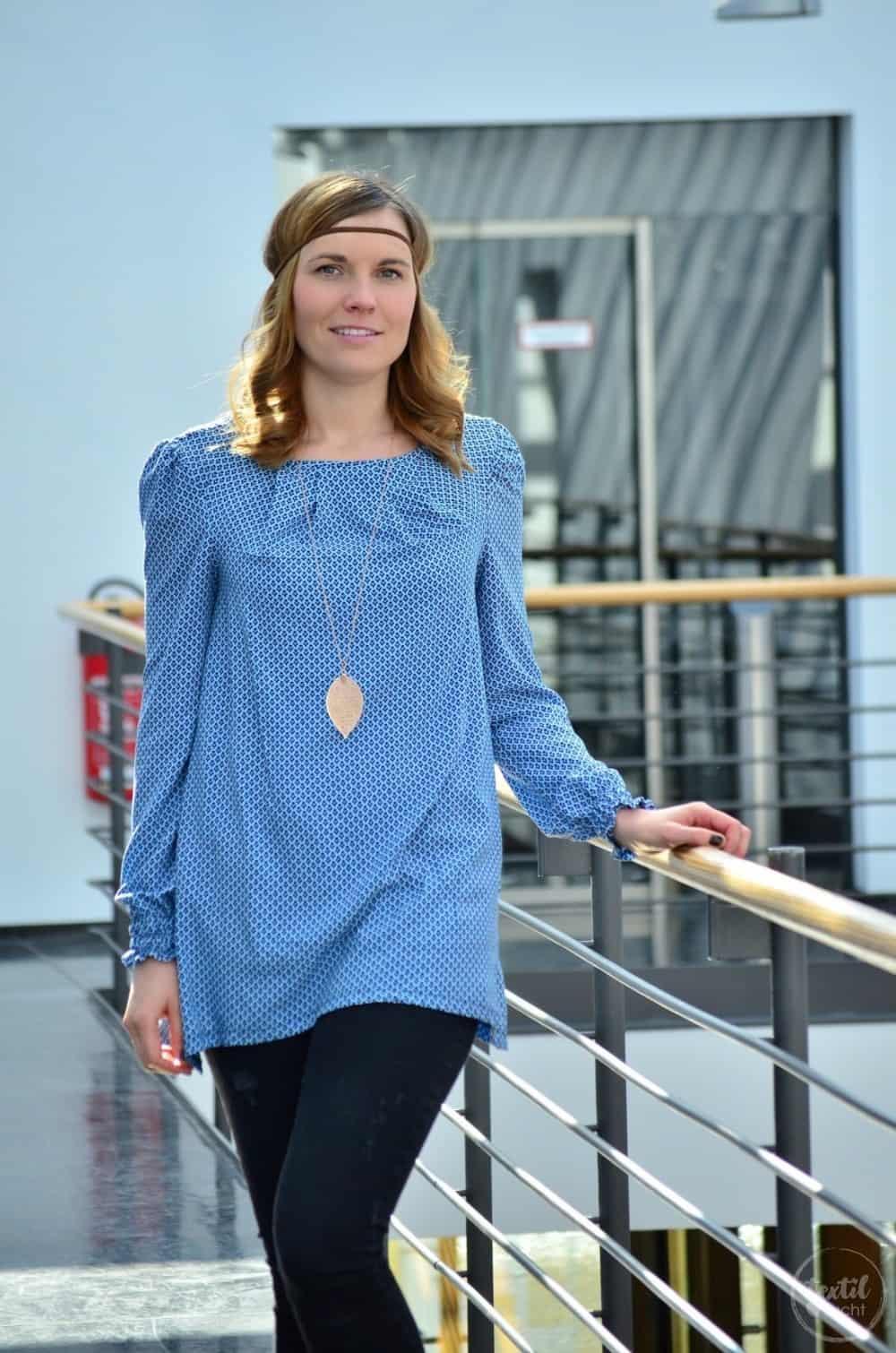Mein nächster Schnitt ist online: Schnittmuster Bluse und Top Moana - Bild 6 | textilsucht.de
