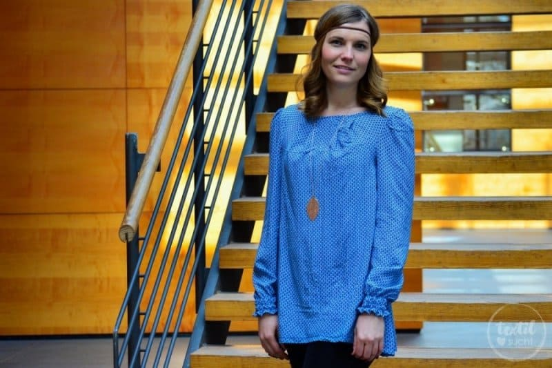 Mein nächster Schnitt ist online: Schnittmuster Bluse und Top Moana - Titelbild | textilsucht.de