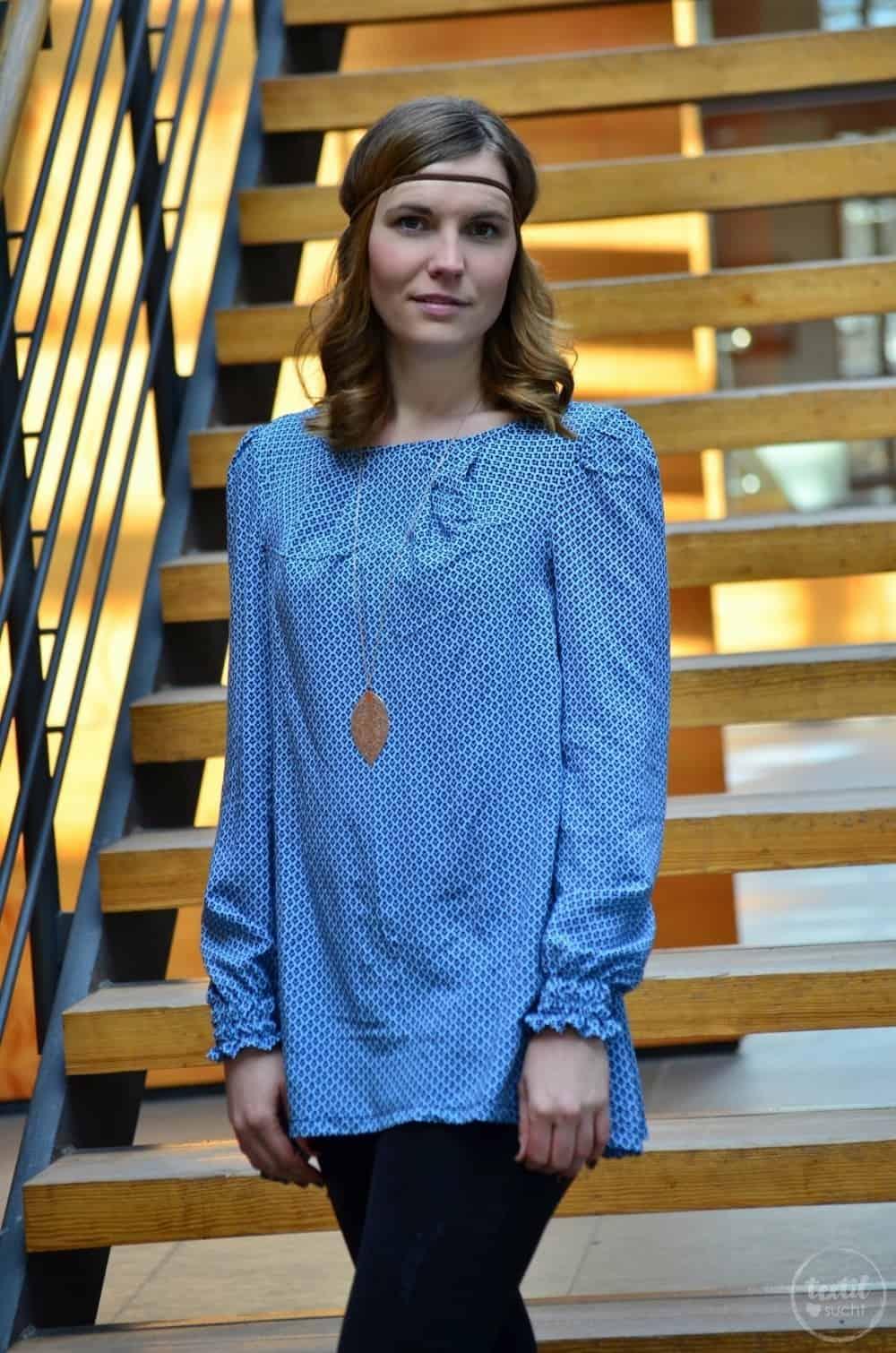 Mein nächster Schnitt ist online: Schnittmuster Bluse und Top Moana - Bild 1 | textilsucht.de
