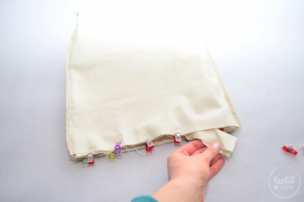 kostenlose Nähanleitung: Turnbeutel Rucksack nähen mit colARTex® - Schritt 11 | textilsucht.de
