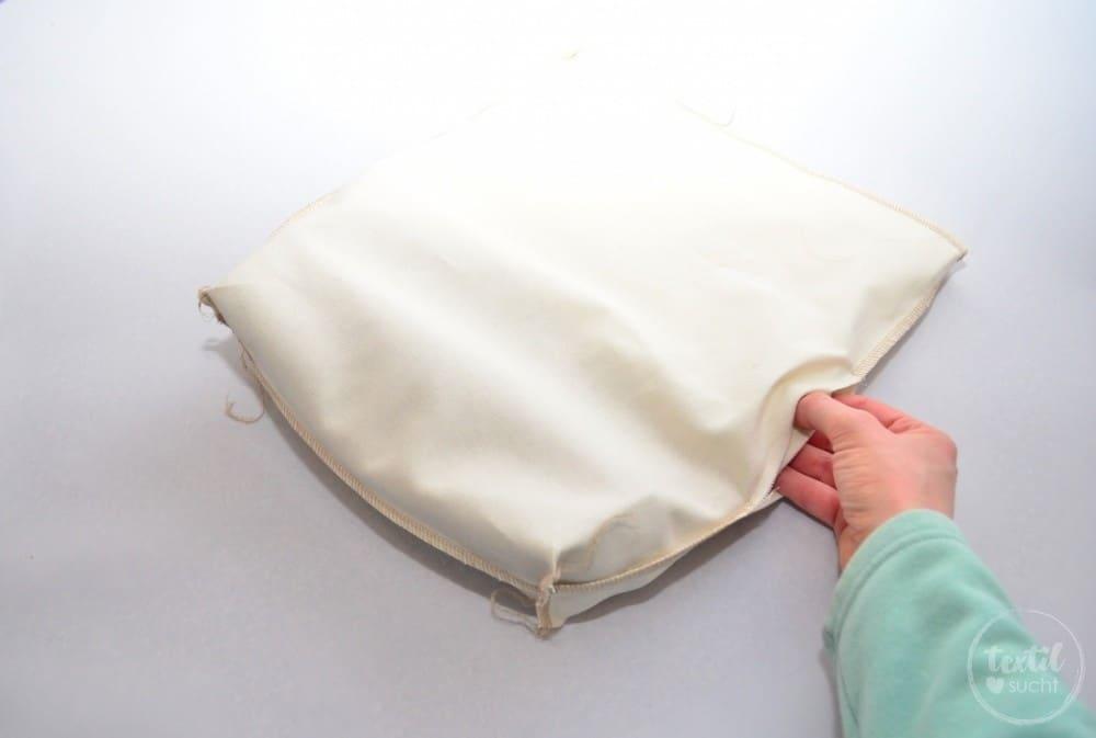 kostenlose Nähanleitung: Turnbeutel Rucksack nähen mit colARTex® - Schritt 13 | textilsucht.de