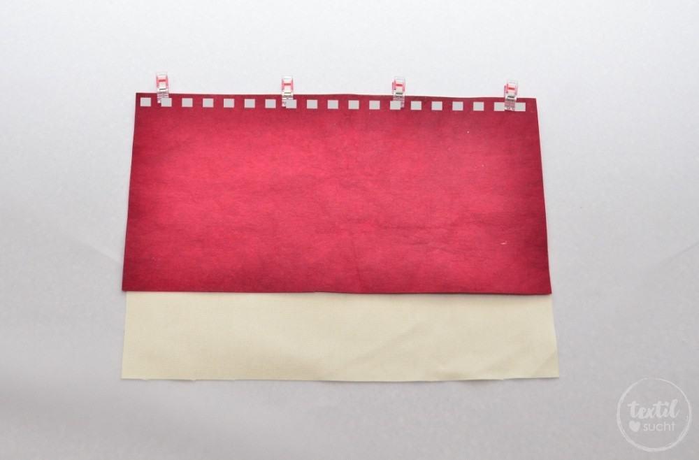 kostenlose Nähanleitung: Turnbeutel Rucksack nähen mit colARTex® - Schritt 1 | textilsucht.de
