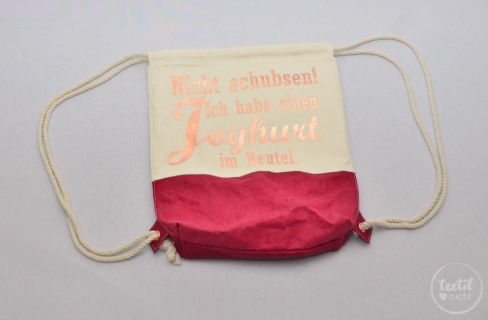 kostenlose Nähanleitung: Turnbeutel Rucksack nähen mit colARTex® - Schritt 18   textilsucht.de