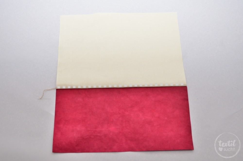 kostenlose Nähanleitung: Turnbeutel Rucksack nähen mit colARTex® - Schritt 2 | textilsucht.de