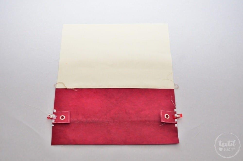 kostenlose Nähanleitung: Turnbeutel Rucksack nähen mit colARTex® - Schritt 5 | textilsucht.de