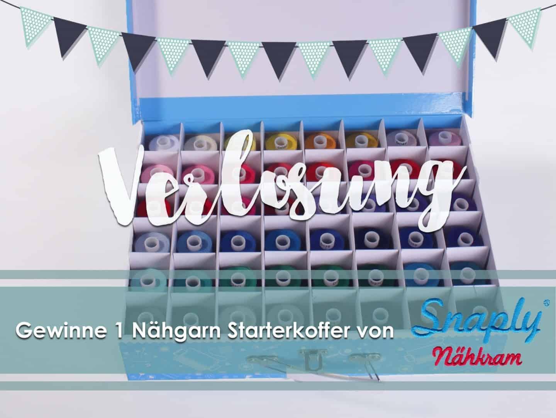 Gewinnspiel: Gewinne einen Nähgarn Starterkoffer von Snapply Nähkram   textilsucht.de