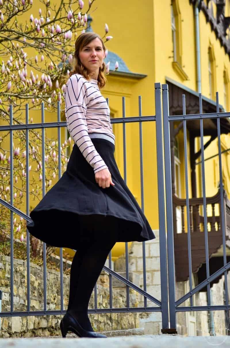 Parisian Chic: Mein Outfit zum Burdastyle Talent 2017 - Bild 4 | textilsucht.de