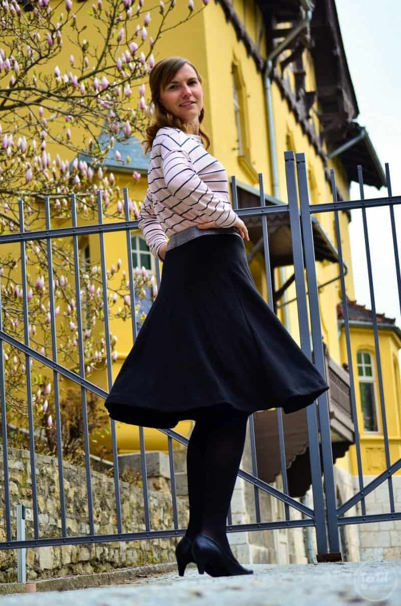 Parisian Chic: Mein Outfit zum Burdastyle Talent 2017 - Bild 6 | textilsucht.de