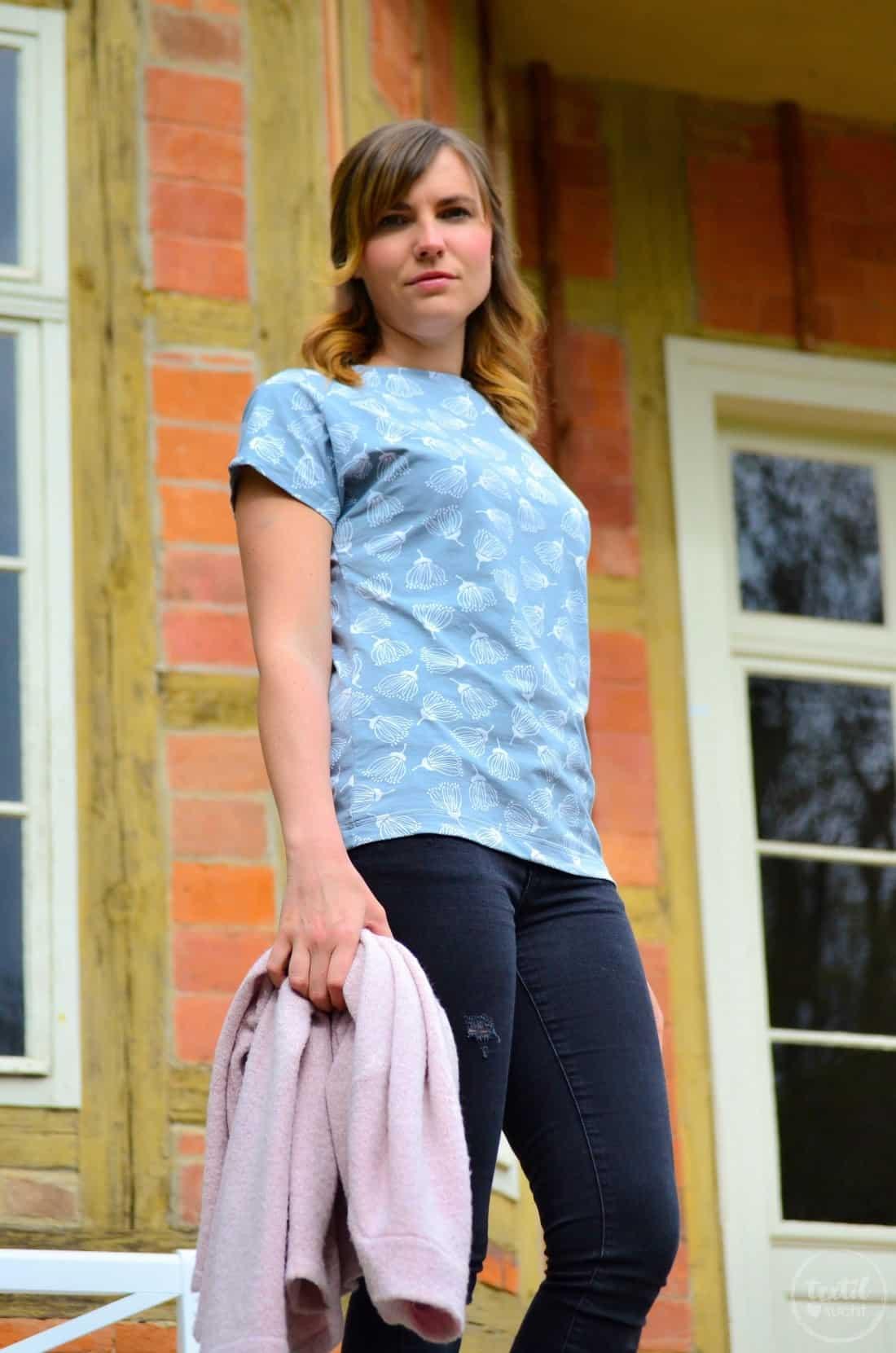 Schnittmuster Shirt Lilla aus FELICIFLORA von raxn - Bild 7 | textilsucht