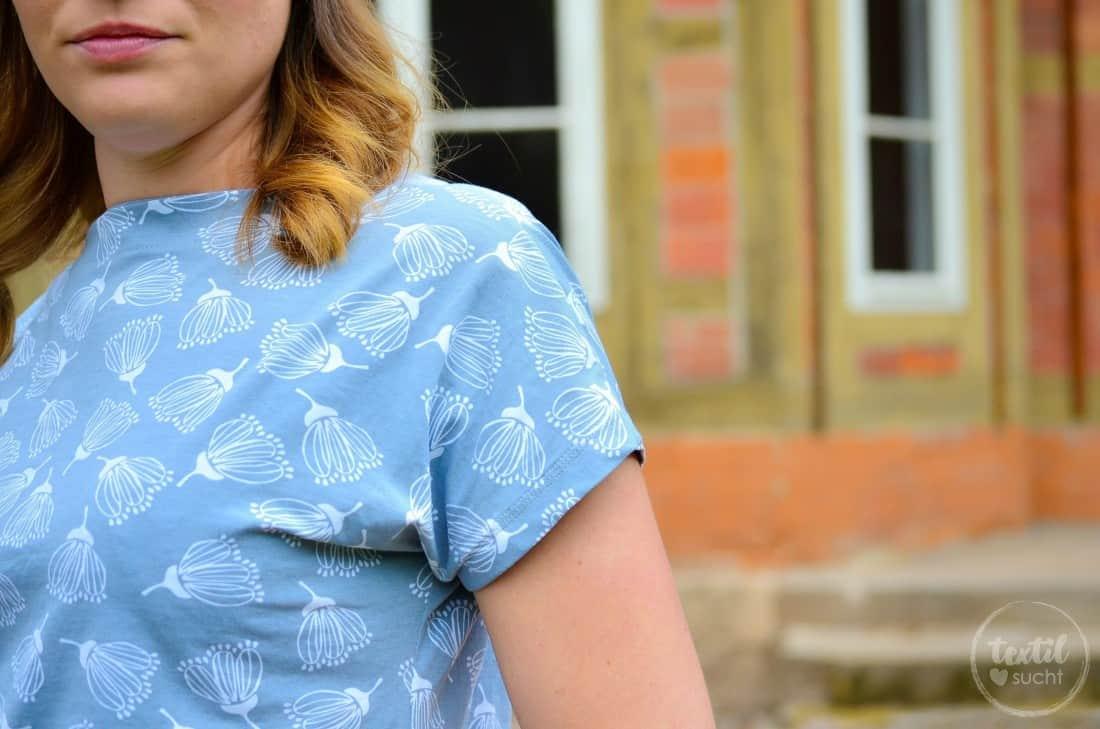 Schnittmuster Shirt Lilla aus FELICIFLORA von raxn - Bild 3 | textilsucht