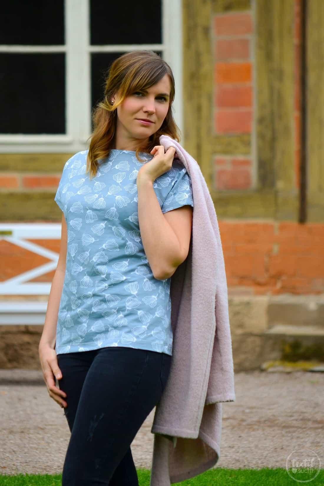 Schnittmuster Shirt Lilla aus FELICIFLORA von raxn - Bild 2 | textilsucht