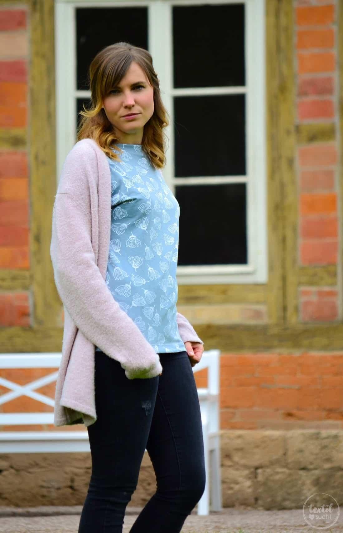 Schnittmuster Shirt Lilla aus FELICIFLORA von raxn - Bild 4 | textilsucht